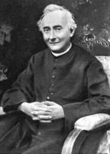 photograph of Blessed Francesco Spinelli taken from an Italian holy card, date and photographer unknown; swiped from Santi e Beati