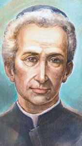 detail of a portrait of Blessed Ludovico Pavoni, artist unknown; image swiped from the Vatican web site