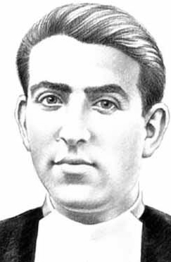 illustration of Blessed Pedro Lorente Vicente, date and artist unknown; swiped from Santi e Beati