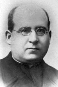 photograph of Blessed Pedro Ruiz de los Paños Angel, date, location and photographer unknown; swiped from Santi e Beati