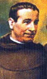 detail of a painting of Blessed Vicente Soler Munárriz, date and artist unknown; swiped from Santi e Beati
