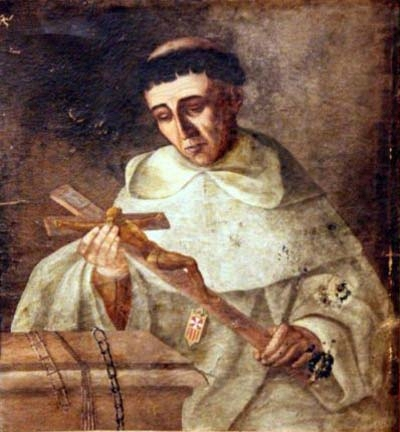 antique portrait of Blessed Vincenzo Salanitro, date and artist unknown; swiped from Santi e Beati