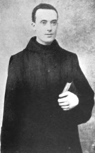 photograph of an unidentified Brother Hospitaller of Saint John of God from the book Monasteries and Religious Houses of Great Britain and Ireland, 1903, photographer unknown