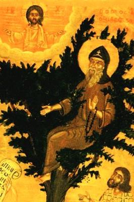 19th century Orthodox icon of Saint David of Thessalonica, artist unknown