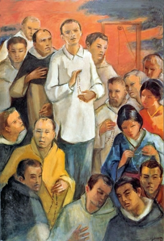 Dominican Martyrs of Japan; swiped from Santi e Beati