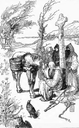 How the Horse Sympathized with Saint Columba