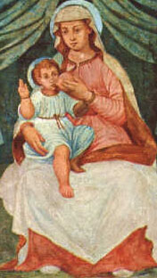 image of the Madonna del Ghisallo, which is known to have been in place in 1623