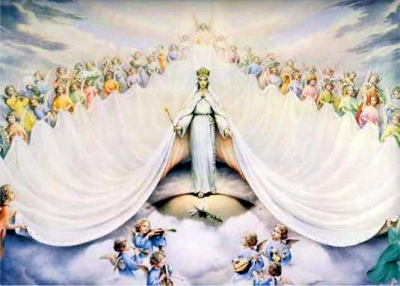 Mary, Queen of the Universe