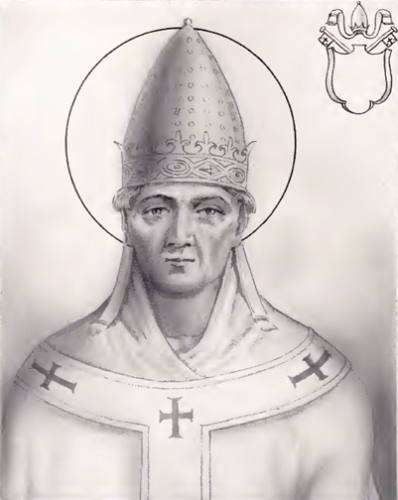 Saint Silvester, the Pope