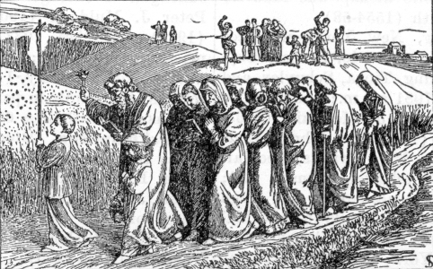 New Catholic Dictionary illustration of a rogation procession
