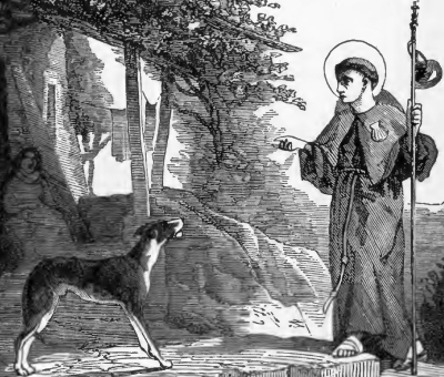 Pictorial Lives of the Saints illustration of Saint Francis Caracciolo