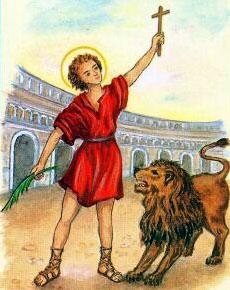 sveti Germanik - mučenec