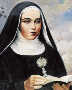 detail of the Vatican portrait of Blessed Maria; swiped from the Vatican web site