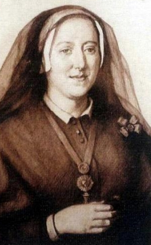 Saint Micaela Desmaisières López de Dicastillo; swiped from Wikimedia Commons