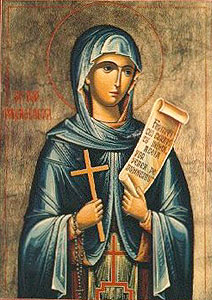 Saint Parasceva of Rome