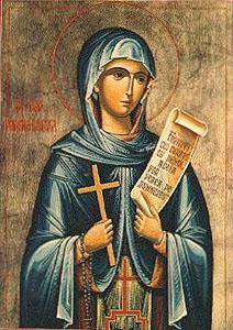 Saint Parasceva of Rome
