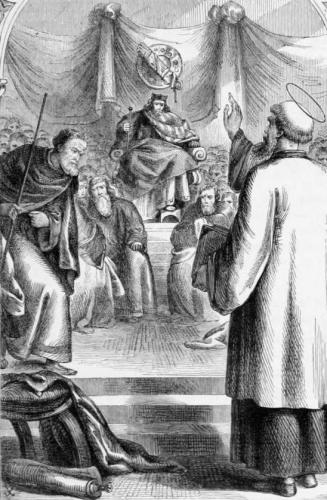 Saint Patrick Teaching at Tara