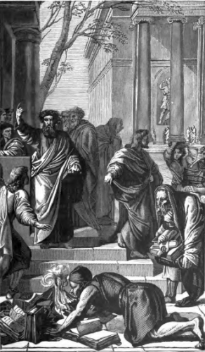 Saint Paul Preaching at Ephesus