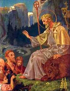 Saint Romedio of Nonsberg