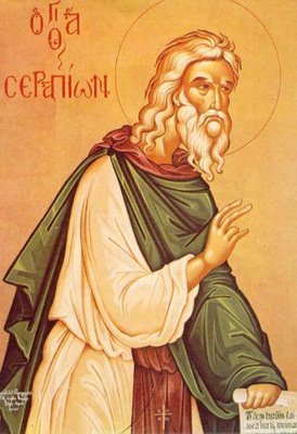 Saint Serapion the Sindonite