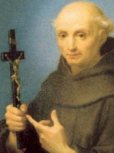 detail from a portrait of Saint Tommaso, date unknown, artist unknown; swiped off the Vatican web site