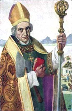 Saint Wolfgang, Bishop of Ratisbon