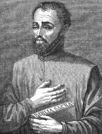 illustration of Venerable Gregory Lopez, artist unknown, from the Illustrated Catholic Family Annual, 1873