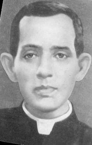 retouched photographed of Venerable Varghese Payappilly, date and photographer unknown; swiped from Wikimedia Commons