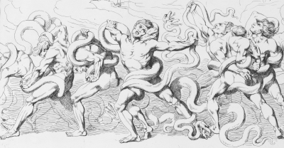 thieves being tortures in Hell