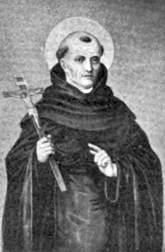 illustration of Saint Philip Beniti, Servite, from the article 'The Servants of Mary' by A Servite Father, May 1905, artist unknown
