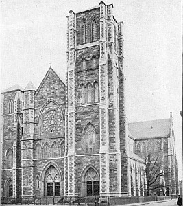 Cathedral of the Holy Cross, archdiocese of Boston, Massachusetts, date unknown, photographer unknown; from the New Catholic Dictionary