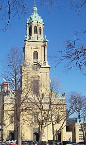 cathedral of Saint John the Evangelist, cathedral church of the archdiocese of Milwaukee, photographed 2006 by Sulfur; swiped off the Wikipedia web site
