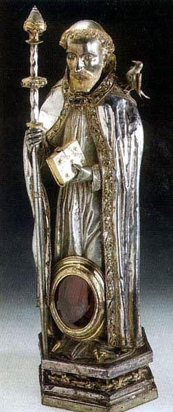Saint Ursus of Aosta reliquary
