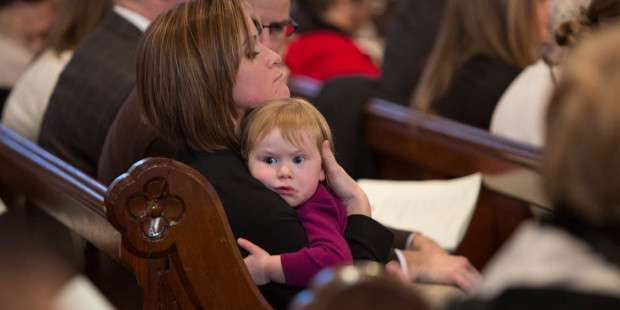 A letter to the parents who keep bringing their disruptive kids to Mass, week after week