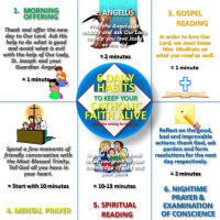 6 SHORT DAILY HABITS  TO KEEP YOUR CATHOLIC FAITH ALIVE!