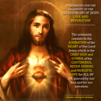 WANT TO PREPARE FOR THE SOLEMNITY OF THE SACRED HEART OF JESUS? (June 3, 2016).