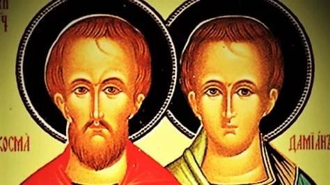 Sept. 26: SAINTS COSMAS AND DAMIAN, Martyrs.