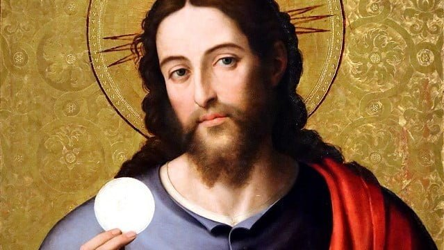 "DAILY GOSPEL AND COMMENTARY: ""I AM THE BREAD OF LIFE.""  Jn 6:30-35."