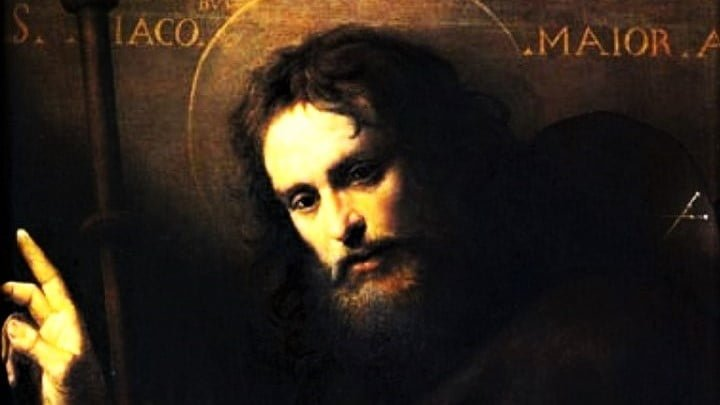 july 25 mass and readings st james