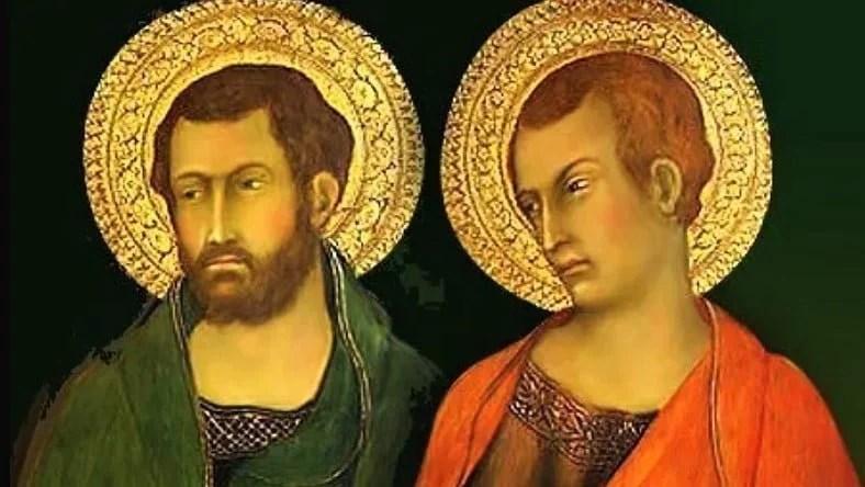 Oct. 28: ST. SIMON AND ST. JUDE THADDEUS, APOSTLES (Feast). MASS PRAYERS AND PROPER READINGS.