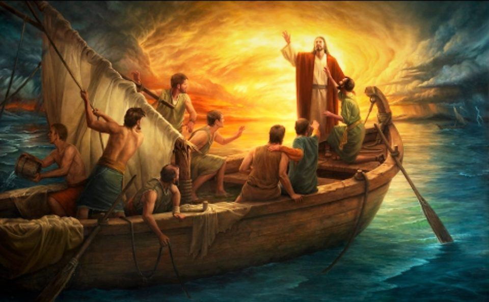 12TH SUNDAY IN ORDINARY TIME YEAR B DAILY GOSPEL AND COMMENTARY. THE CALMING OF THE STORM (Mk 4:35–41).