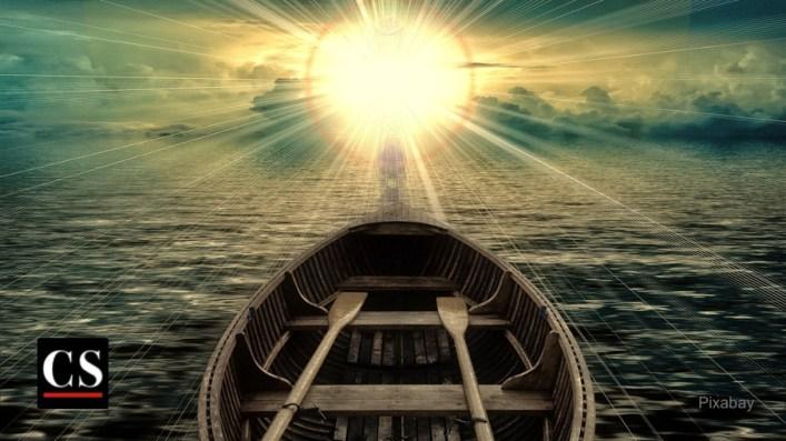 Le Ciel : Ultime récompense du chrétien ! Imaginez sa beauté ! - Page 5 Pixabay-BoatSettingSun