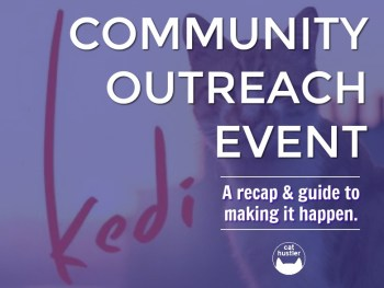 Permalink to: Kedi as a Community Outreach Event