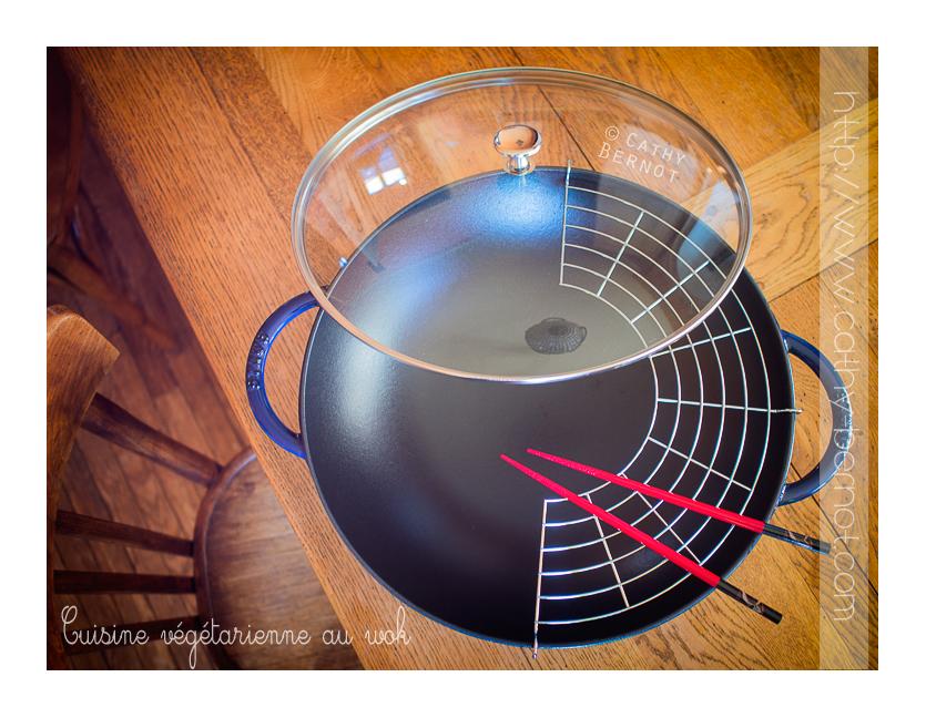 la cuisson au wok en cuisine vegetarienne