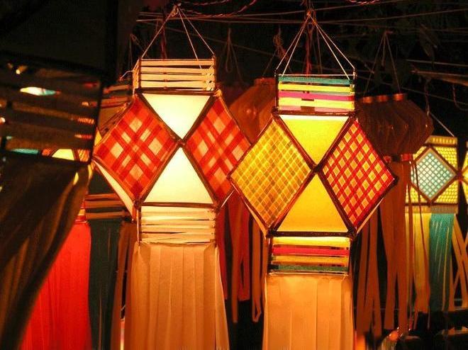 Diwali Lanterns Cathy