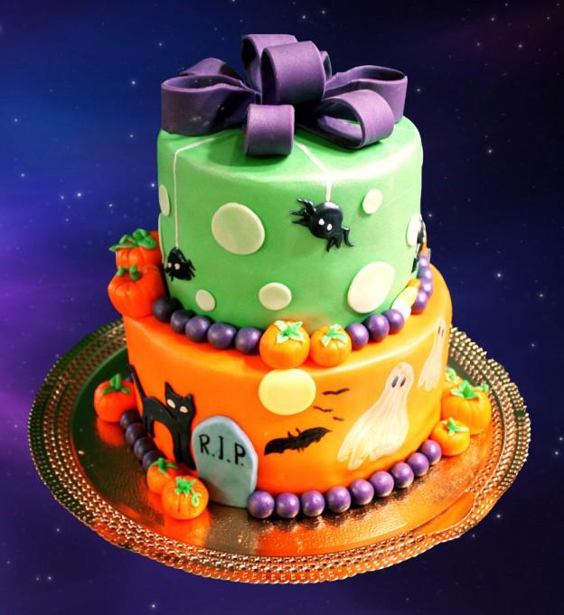 Halloween Cakes Cathy