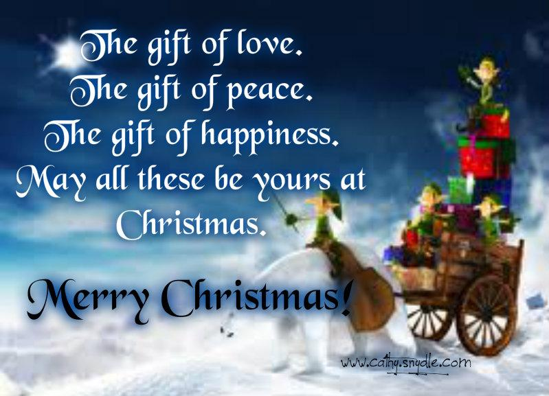 Christmas Wishes Messages And Christmas Greetings Cathy