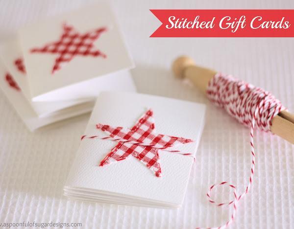 Homemade Christmas Cards Ideas Cathy