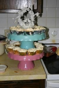 Margarets wedding cupcakes