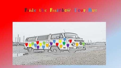 Ride the Rainbow Tour Bus